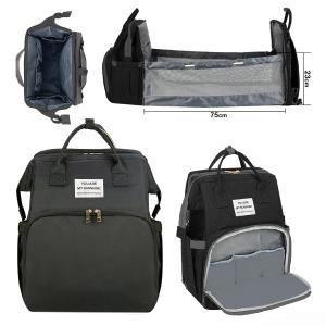 2 In 1 Diaper Bag Black GM276-3-bl-HV