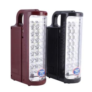 Geepas GE5566 2 IN 1 Rechargeable LED Emergency Lantern 24 pcs LEDs, 100 Hours Working-HV