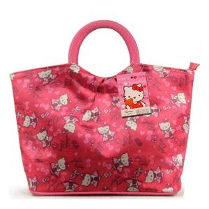 Hello Kitty High Quality Waterproof Round Mouth Handbag-HV