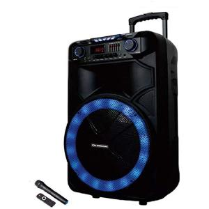 Olsenmark OMMS1180 Party Speaker with Remote Control & Mic-HV