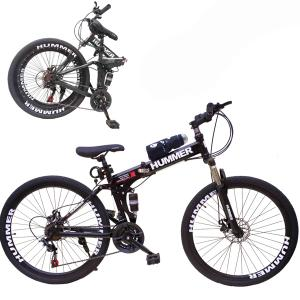 Wire Hummer 24 Inch Bicycle Black GM24-bl-HV