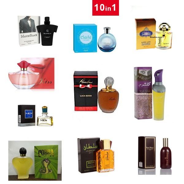 10 in 1 Perfume Combo