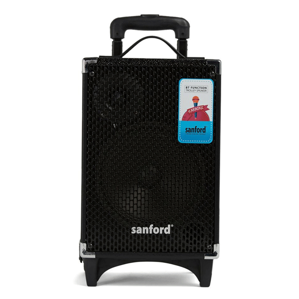 Sanford Rechargeable Bluetooth Portable Trolley Speakers- SF2257PTS