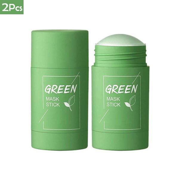 2021 Hot Selling Green Mask Blackheads Remover Stick 2Pcs