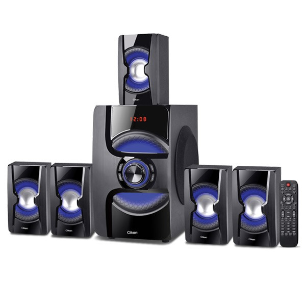 Clikon CK844 5 IN 1 Multimedia Speakers