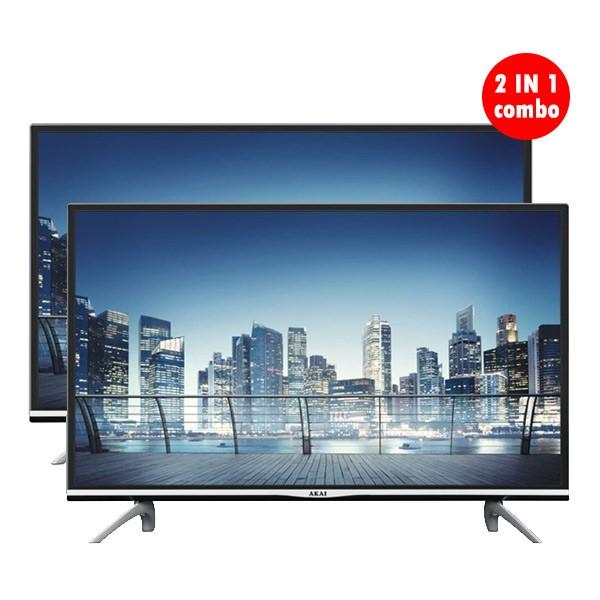 AKAI 2 IN 1 Combo 32-Inch Led Smart TV
