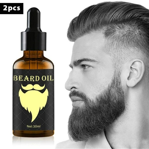 Organic & Natural Beard Styling Oil,2 Pcs