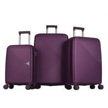 Platinum 1GR0106343-402 Travel Bag Prism Off 3 Set, Purple-LSP