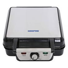 Geepas GWM5417 4 Slice Waffle Maker with Non-stick Surface 1100 Watts -LSP