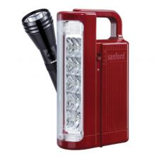 Sanford 2 In 1 Rechargeable Search Light, Emergency Lantern Combo - SF6213SEC-LSP