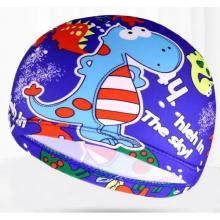 Children Cartoon Swimming Cap Interstellar Little Dinosaur-LSP