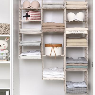 Multilayer Collapsible Clothes Storage Hanging Rack-LSP