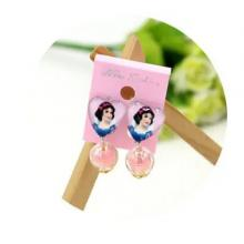 Childrens Cartoon Pierced Earrings Snow White-LSP