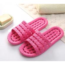 Mens And Womens Soft Bottom Non-Slip Slippers Rose Red-LSP