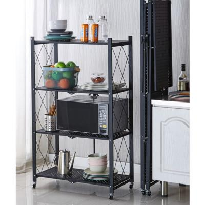 Easy Installable 4 layer Innovative Storage Rack-LSP