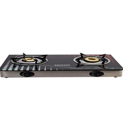 Krypton KNGC6014 Double Burner Gas Stove with Glass Top-LSP