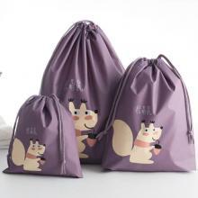 PEVA Waterproof Design High Quality Travel Bags 3 Pcs, Grape Purple-LSP