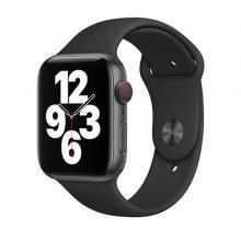 Apple Watch Strap 44mm Sport Band Regular, Black-LSP