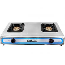 Krypton KNGC6034 Double Gas Burner Silver -LSP