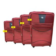 QTS Travelling Trolley 4pcs, Red-LSP