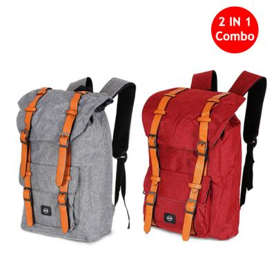 2 IN 1 Combo Okko Casual Backpack