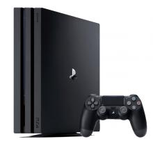 Sony PS4 Pro Console 1TB Jet Black-LSP