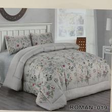 Roman King Size Comforter Set 4 pcs- 019-LSP