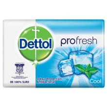 Dettol Profresh Cool Antibacterial Bar Soap, 170g-LSP