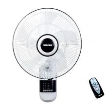 Geepas GF9479 16-Inch Wall Fan 3 Speed Settings With Timer Oscillating And Static Feature-LSP