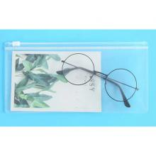 Frosted Transparent Zipper File Pocket Transparent Color -LSP
