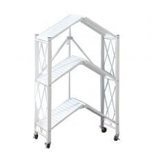 Kitchen Multifunctional Folding 3 Shelf White GM539-w-LSP