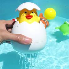 Childrens Bath Floating Shower Toy Duck Egg-LSP