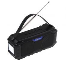Wireless FM Waterproof Portable Solar Bluetooth Speaker