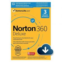 Norton 21405146 360 Deluxe 25 GB 3 Device AR-LSP