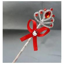 Cartoon Childrens Role Playing Hair Accessories Red Magic Wand-LSP