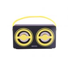 Krypton KNMS5069 Rechargeable Portable Bluetooth Speaker, Yellow-LSP