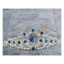 Cartoon Childrens Role Playing Hair Accessories Blue Crown-LSP