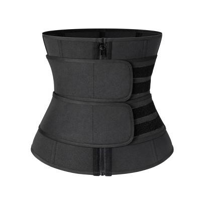 SWEATFIT Adjustable Slimming Waist Trimmer Black-LSP