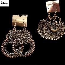 2 Pairs Fashionable Earrings ER11ER15
