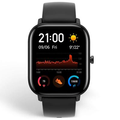 Amazfit GTS Smart Watch With 1.65-Inch AMOLED Screen Black -LSP