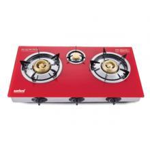 Sanford Glass Gas Stove 3 Burner- SF5364GC-LSP