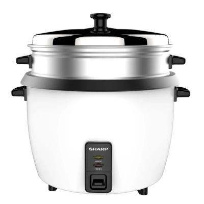 Sharp Rice Cooker 1.0L White KS-H108G-W3-LSP
