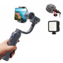 ZWN S5B Gimbal Stabilizer for iPhone Samsung and Action Camera-LSP