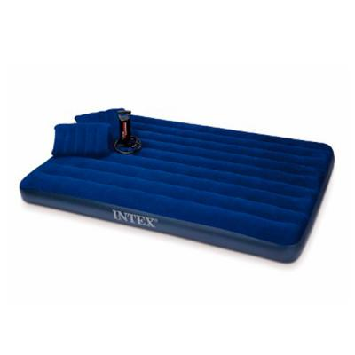 Intex Inflatable Airbeds with High Output Hand Pump and Inflatable Pillow, 6876503