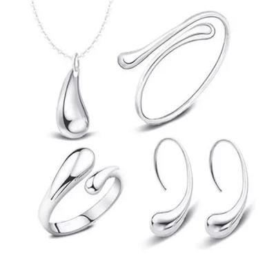 SIGNATURE COLLECTIONS 5 Pcs Droplet Design Jewelry set-LSP