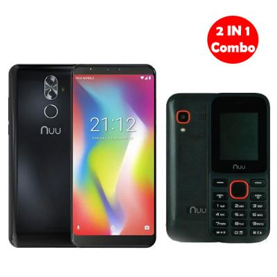 2 IN 1 Combo NUU G2 With NUU F2 Mobile phones 03