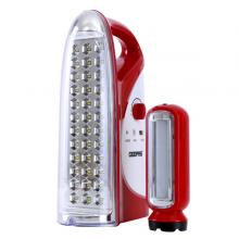 Geepas GEFL4664 Rechargeable Led Lantern With Torch 1600mah-LSP