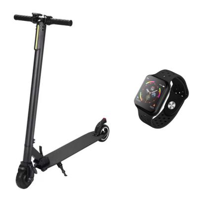 FOR ALL FX 6 Electric Foldable scooter with F9 Smartwatch-LSP