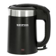 Krypton KNK6152 0.5 L Steel Electric Kettle, Black-LSP