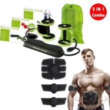 2 IN 1 Combo Revoflex Xtreme Home Gym And Abs 6 Pack Muscle Stimulator03